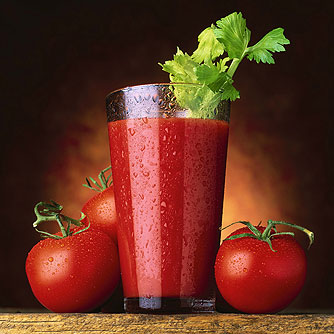 Tomato Juice Decreases Inflammation